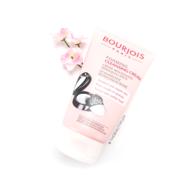 bourjois cleansing cream beautyspin - the beauty puff