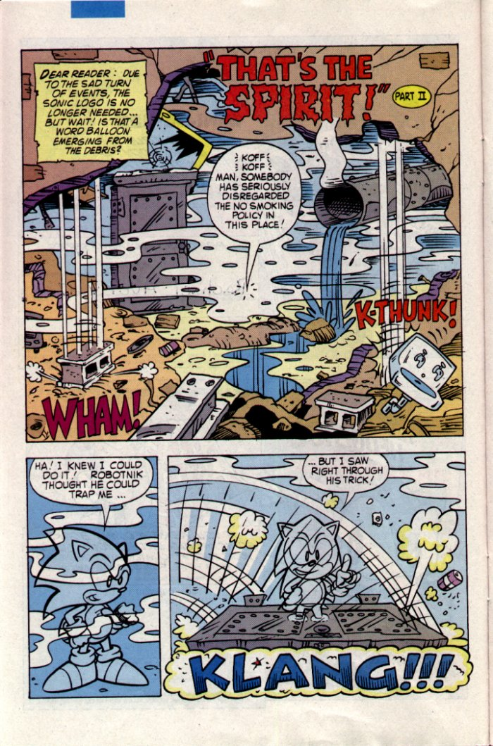 Read online Sonic The Hedgehog comic -  Issue #20 - 7