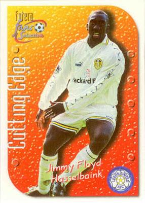 Futera Leeds United 2000-juego completo de 50 Cartas Completo