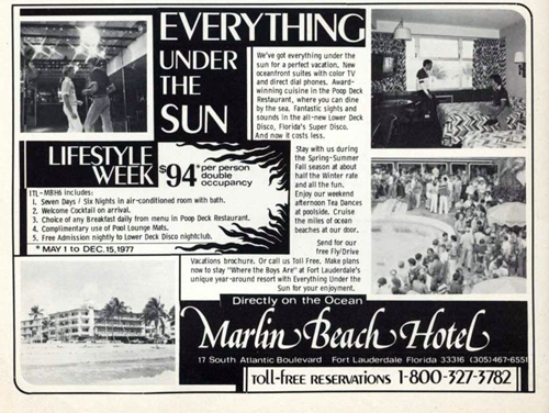 The Marlin Beach Affair When Fort Lauderdale S Community First Stood Up