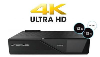 Dream Box DM 900 بجودة 4K UHD صدور جهاز enigma2 4k UHD satellite