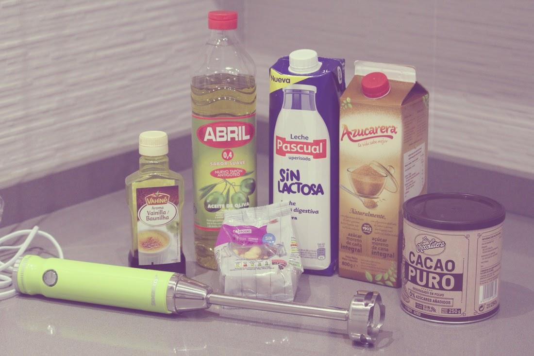 Nutella casera receta crema de cacao y avellanas Ingredientes