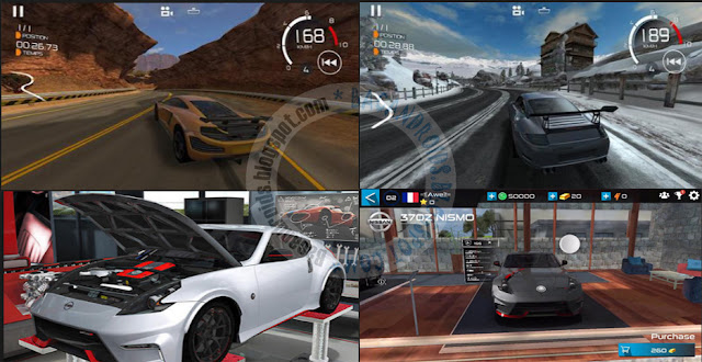Gear Club New racing Games v1.6.1 APk data Obb Full version terbaru For Android