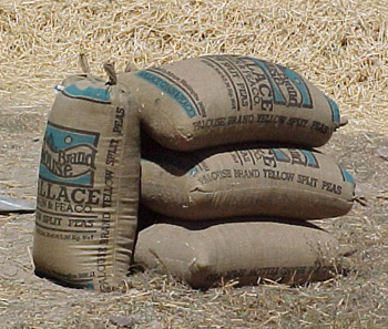 Recycled Market Grain And Coffee Sack Chic
