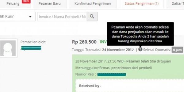 Pembeli Tidak Konfirmasi Penerimaan Barang Di Tokopedia 1