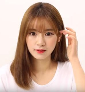 cara potong rambut ala korea