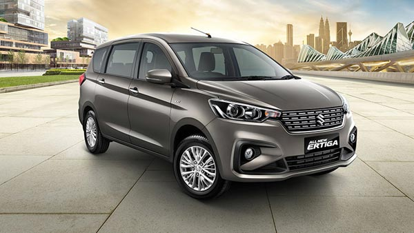 New Maruti Suzuki Ertiga 2018 Facelift version view