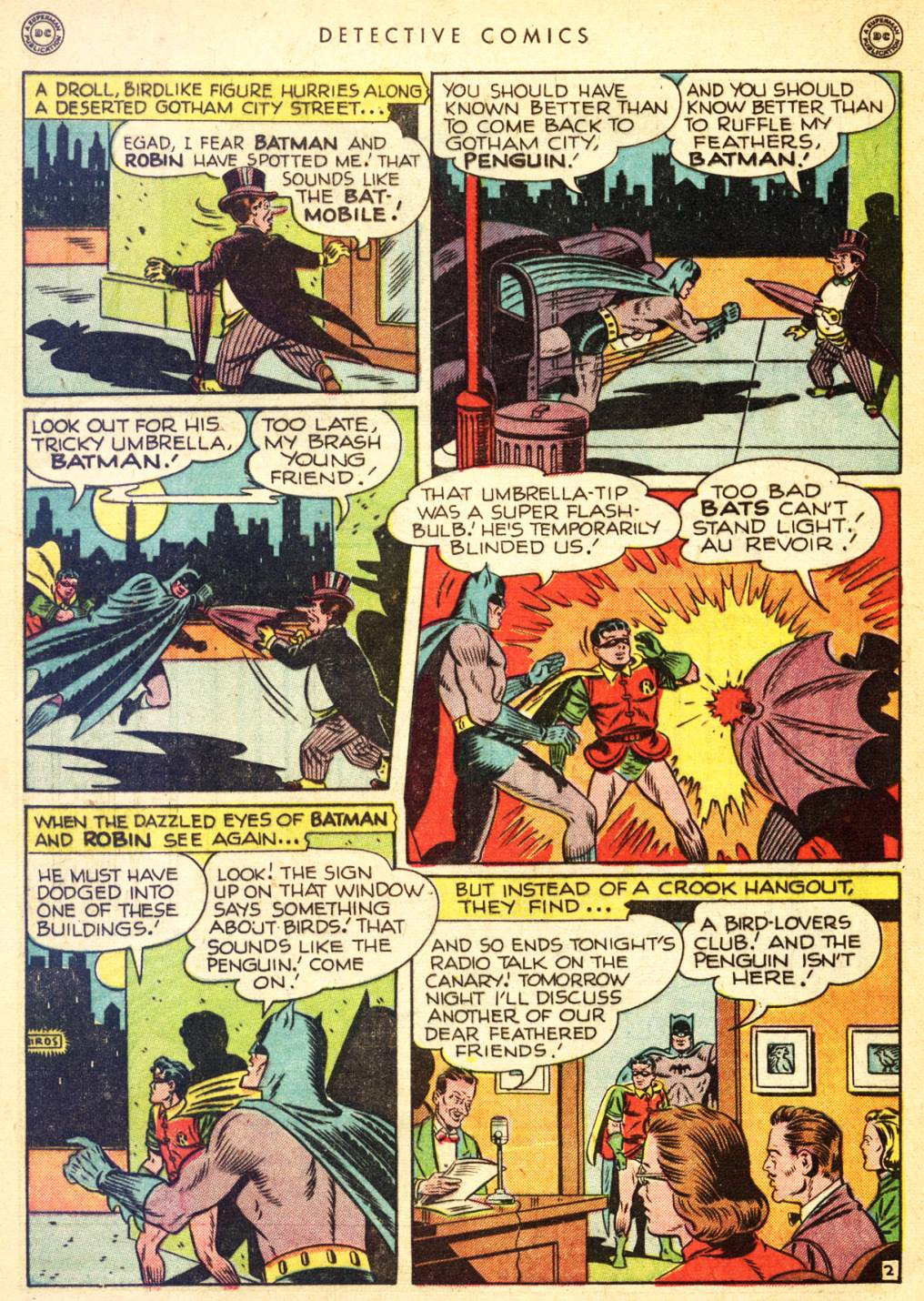 Read online Detective Comics (1937) comic -  Issue #126 - 4