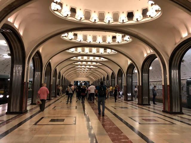 Mayakovskaya (Moscow Metro Station)