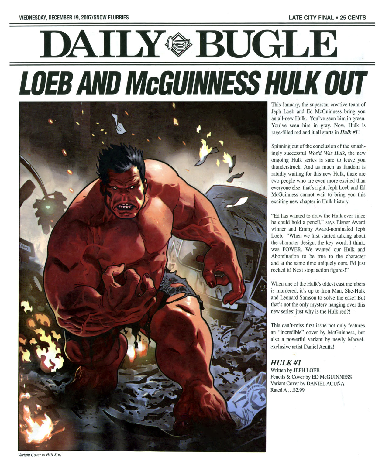 Read online Daily Bugle (2006) comic -  Issue #16 - 2