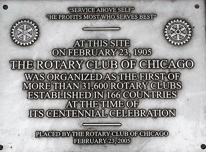 The First Rotary Club