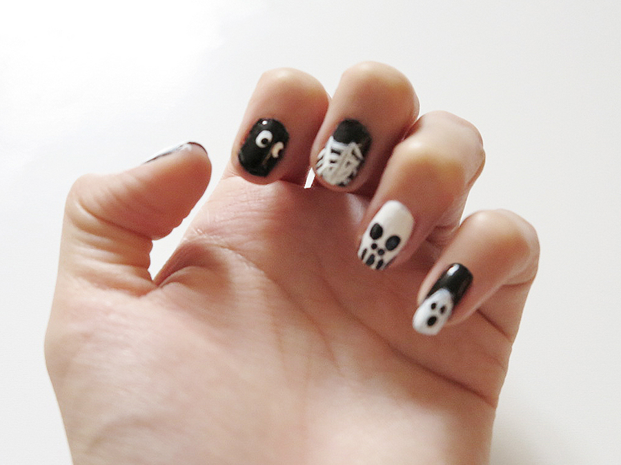 5 Halloween Nail Art Designs! | LynSire: Cruelty-Free Life