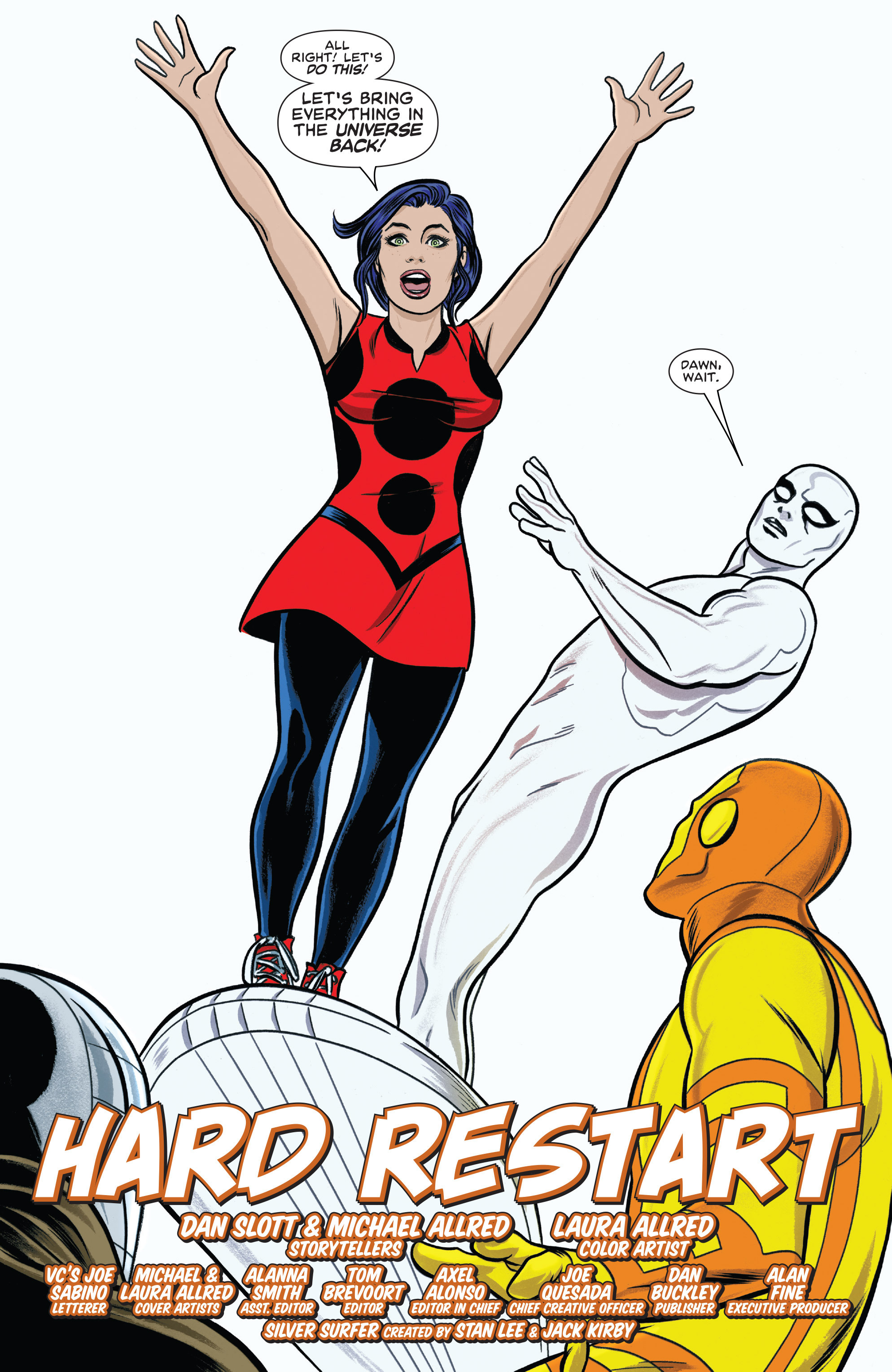 Read online Silver Surfer (2014) comic -  Issue #14 - 3