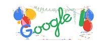 Buon compleanno Google: doodle per il diciottesimo anniversario dalla nascita del motore di ricerca