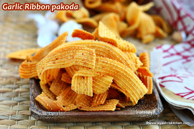 Garlic ribbon murukku