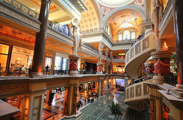 Forum Shops em Las Vegas