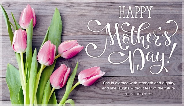 Happy Mothers Day Bible Greetings