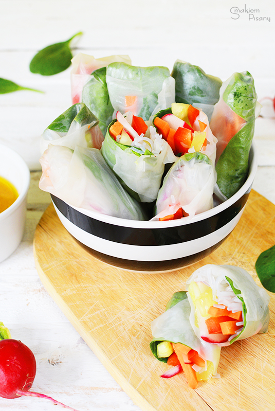 sajgonki z warzywami