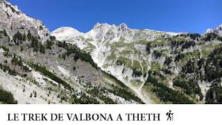 Le trek de Valbona à Theth au nord de l'Albanie