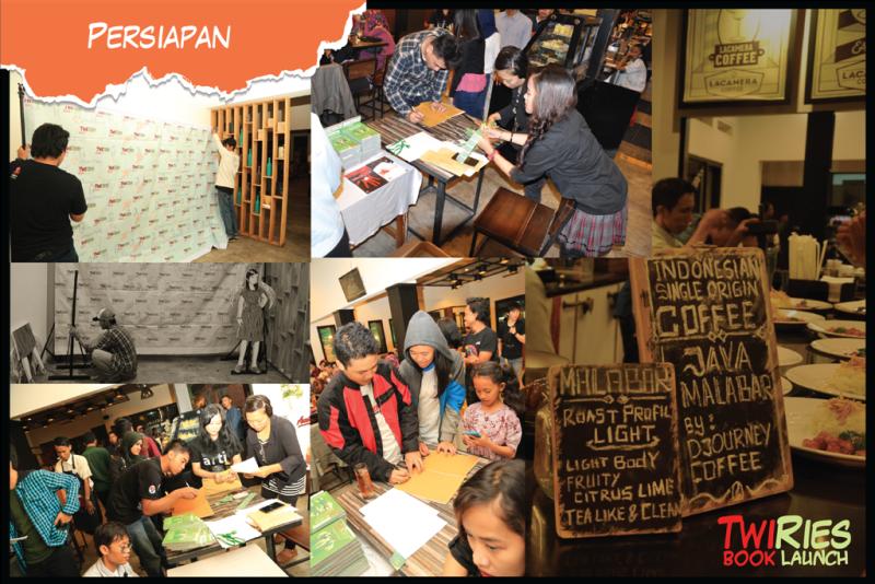 Sesi persiapan TwiRies Book Launch
