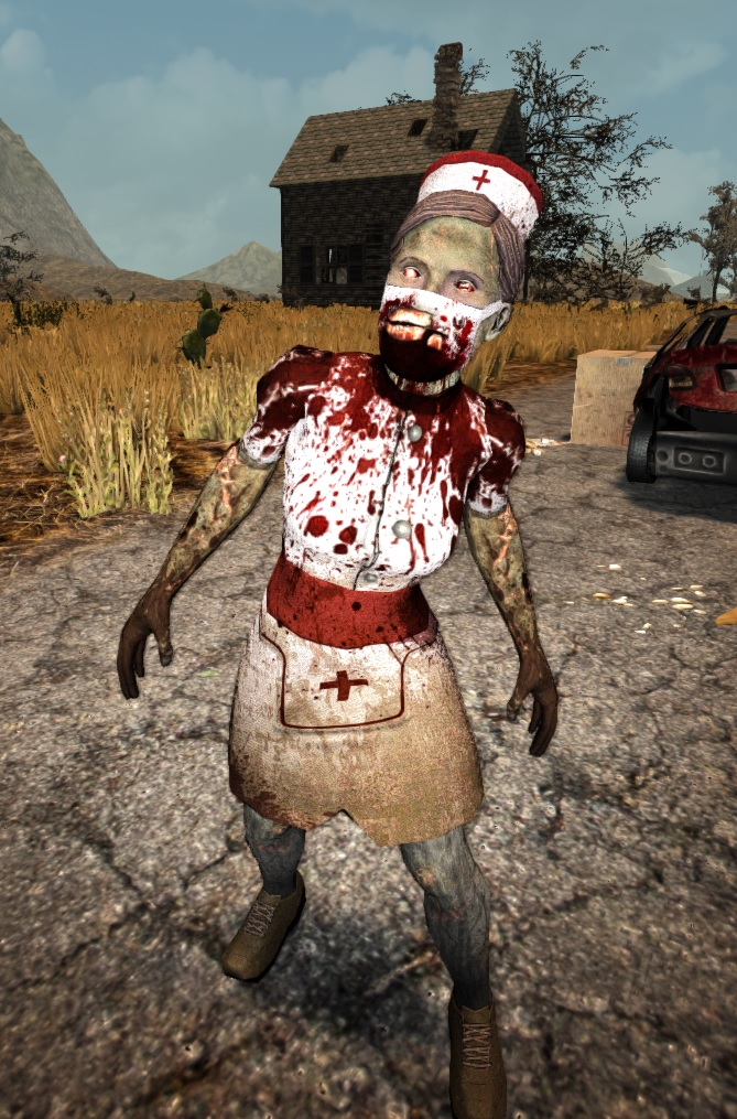 7 Days To Die Texture Overhaul New Proffesional Nurse