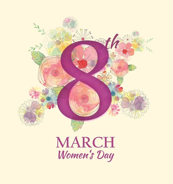 oite de março dia internacional da mulher