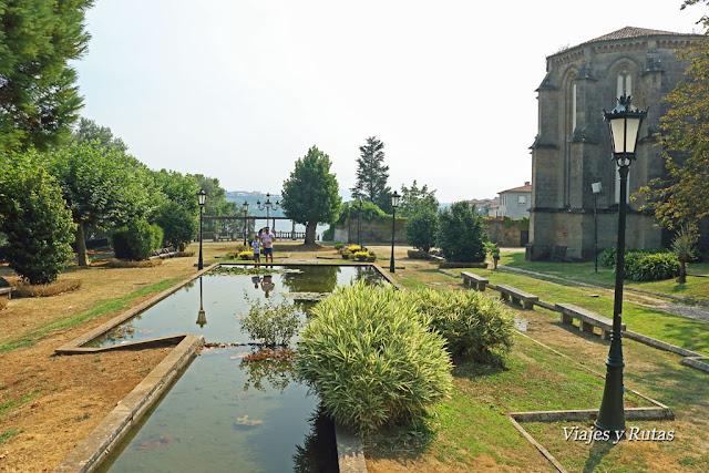 Jardines de Troncoso, Tui