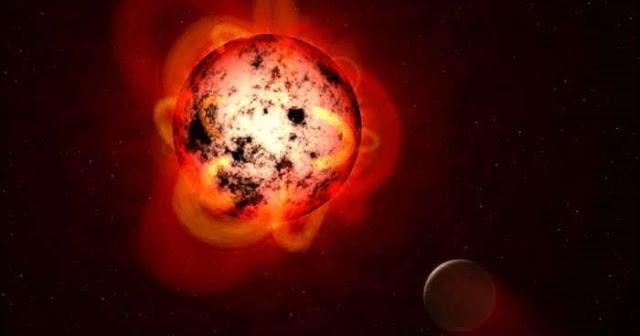 A rocky planet orbiting Proxima Centauri might sustain liquid water (artist's depiction). Credit: NASA, ESA, G. Bacon (STSc)