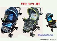 Kereta Bayi Pliko PK389 Retro
