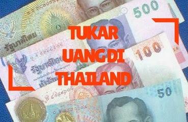 Tukar Rupiah di Thailand