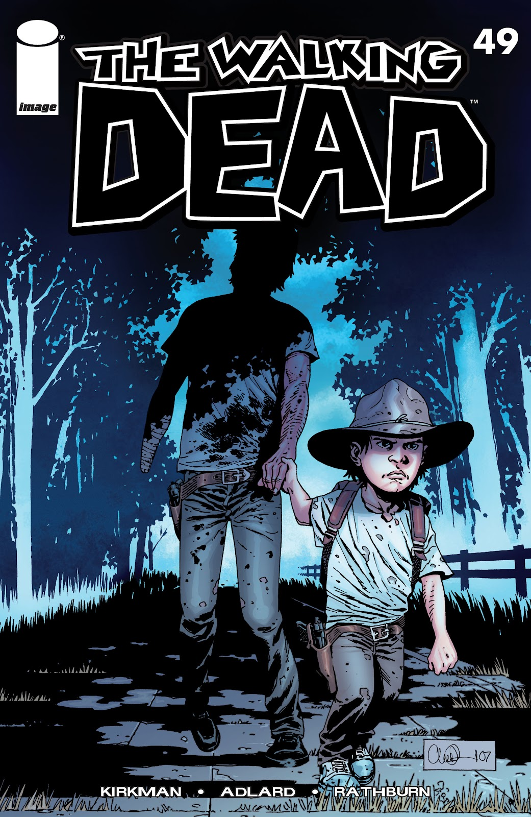 The Walking Dead issue 49 - Page 1