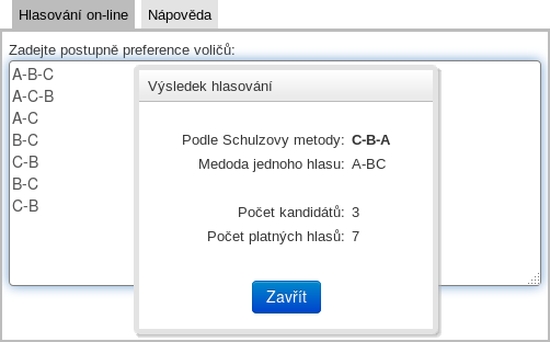 Screenshot kalkulačky