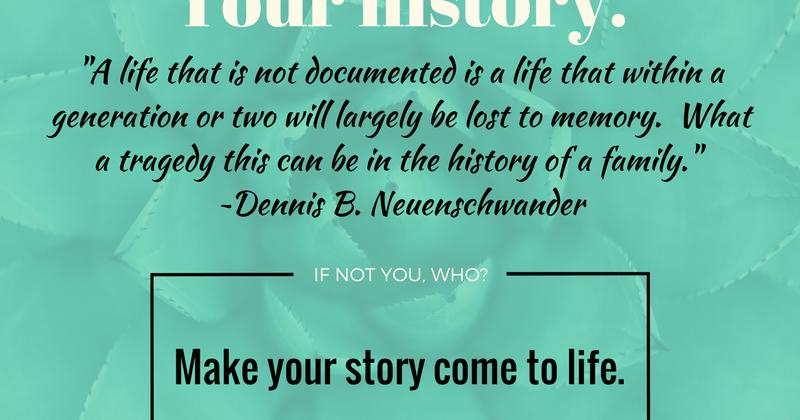 Write my story life