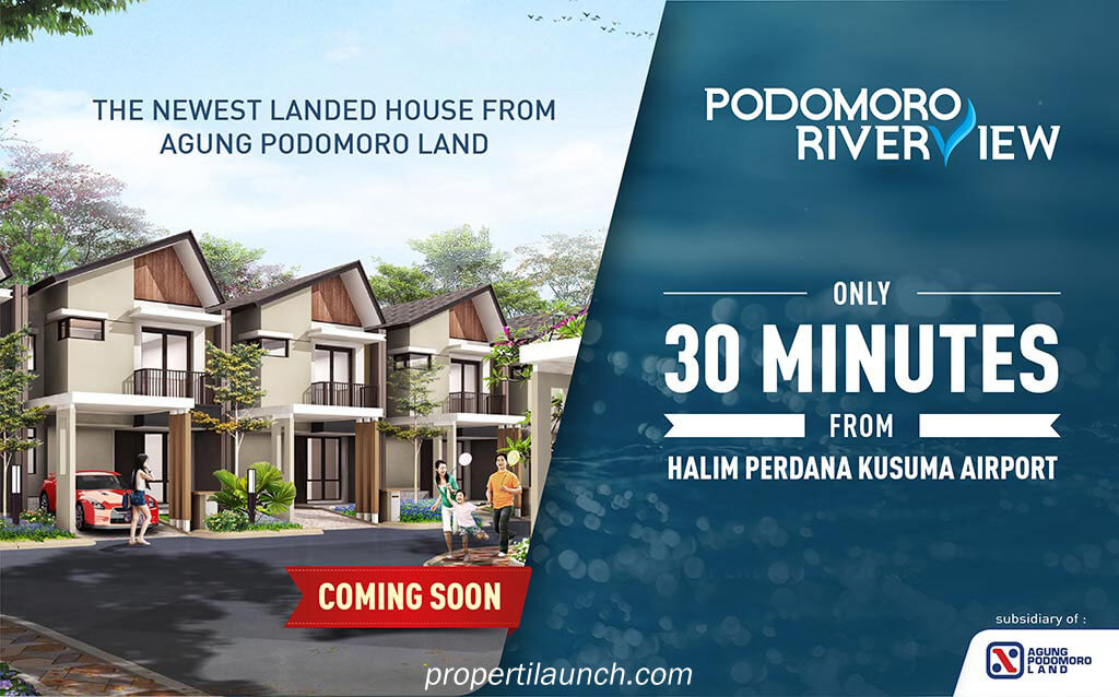 Launching New House Podomoro River View