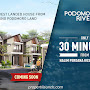 Podomoro River View (PRV) - Rumah Baru 2 Lantai Podomoro Golf View