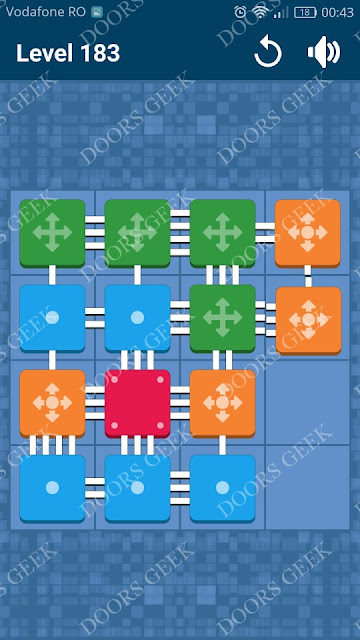 Connect Me - Logic Puzzle Level 183 Solution, Cheats, Walkthrough for android, iphone, ipad and ipod