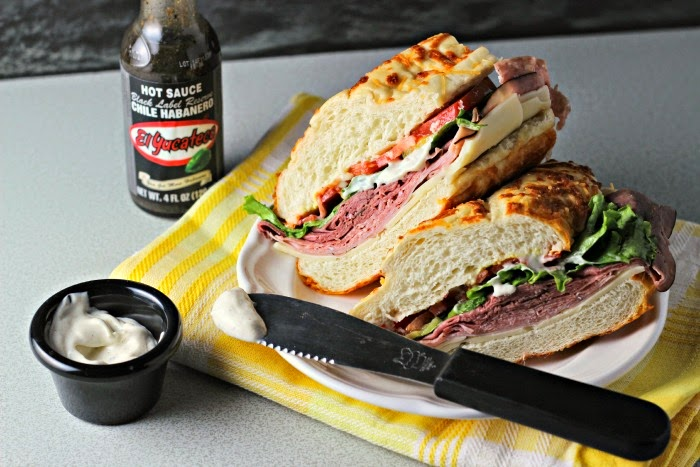 Kicked Up Sandwich Spread:  #SauceOn #shop