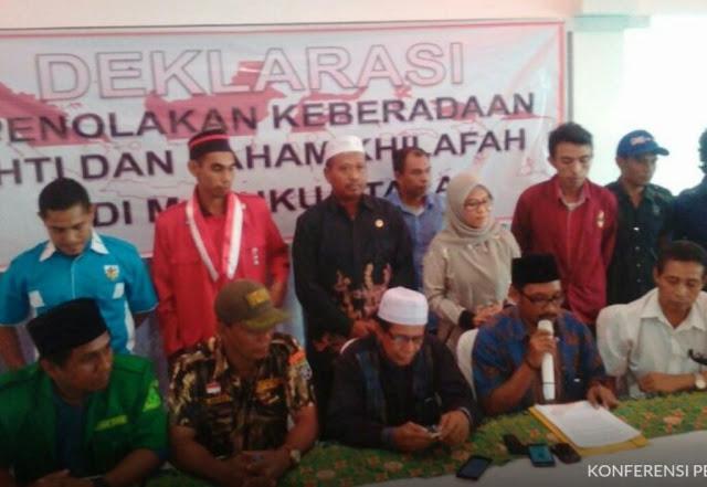 22 Ormas Maluku Utara Tolak HTI dan Khilafah di Indonesia