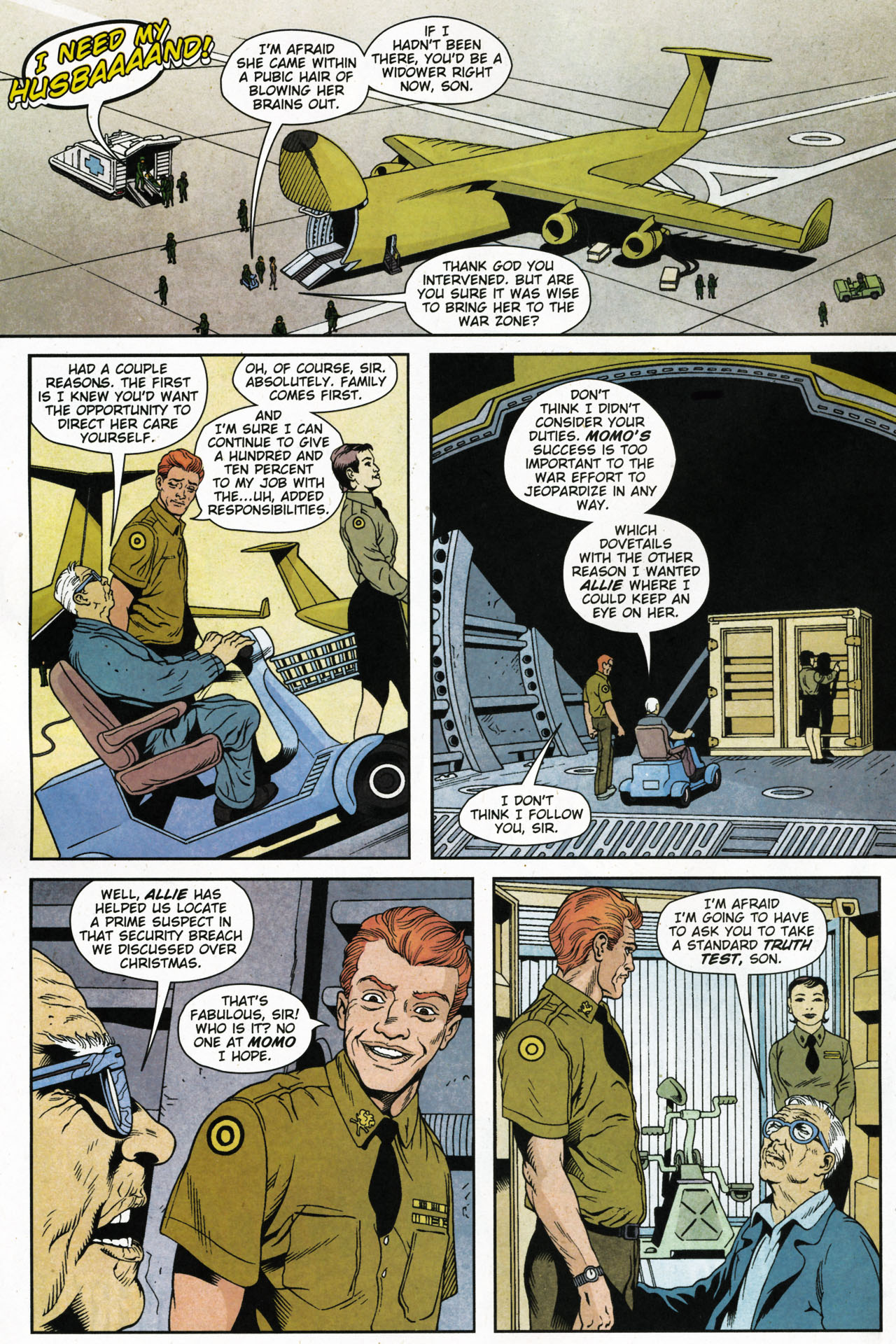 Read online Army @ Love comic -  Issue #4 - 11