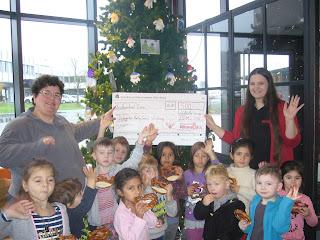 500€ Spende für den Kindergarten von Götz Brot
