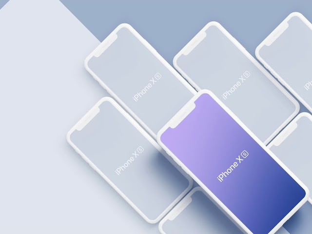 mockups-gratis-nuevos-iPhone-Xs-Max-Apple