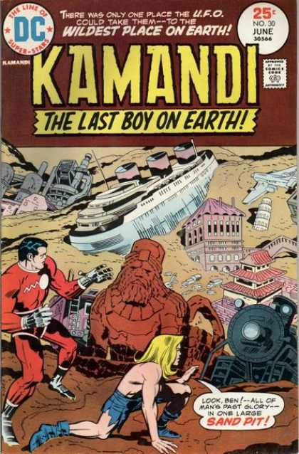THE ARCHETYPAL ARCHIVE MYTHCOMICS 11 KAMANDI 30