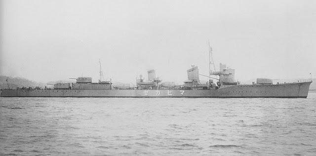 Japanese Navy destroyer Maikaze, 15 July 1941 worldwartwo.filminspector.com