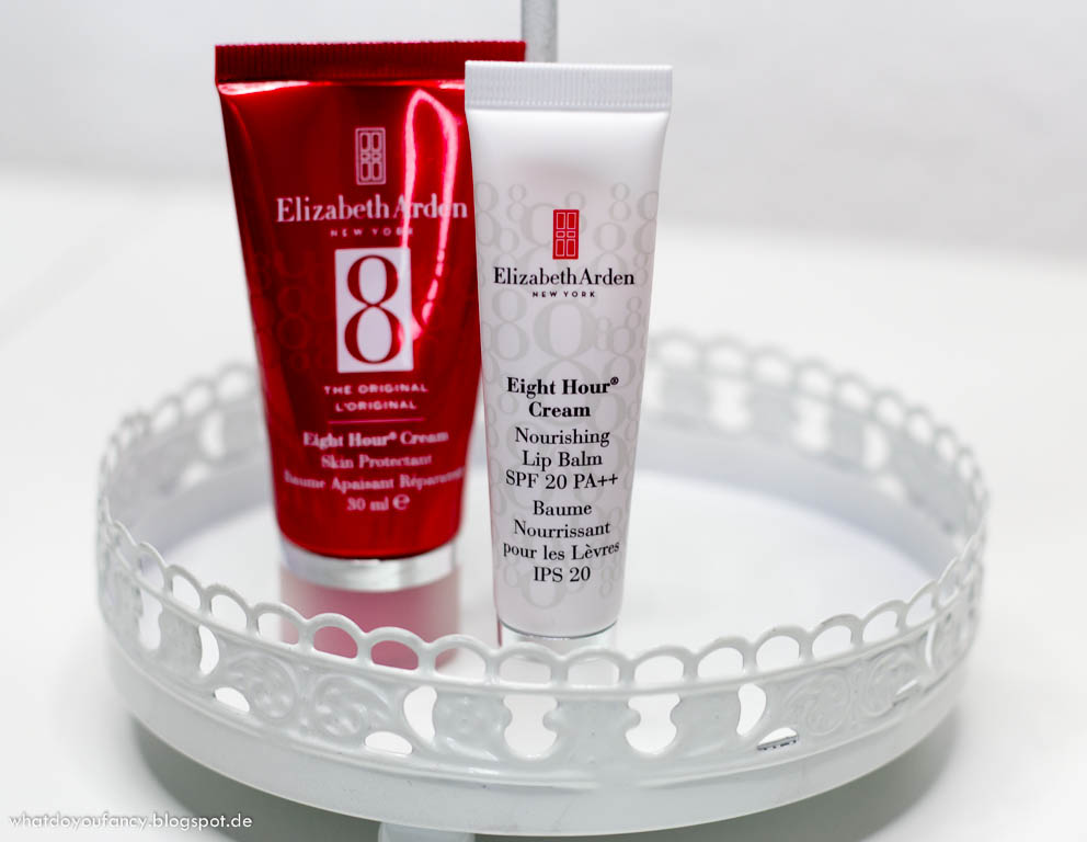 Elizabeth Arden Eight Hour Nourishing Lip Balm SPF 20 und Original Eight Hour Cream