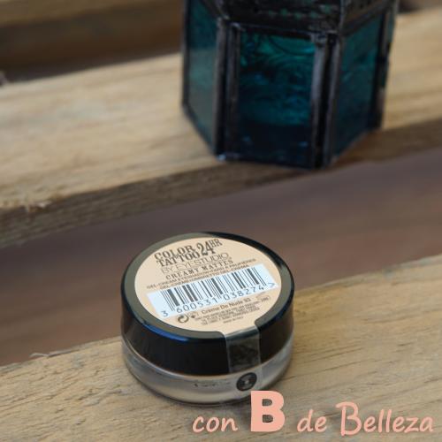 Maybelline sombra en crema tono Creme de nude