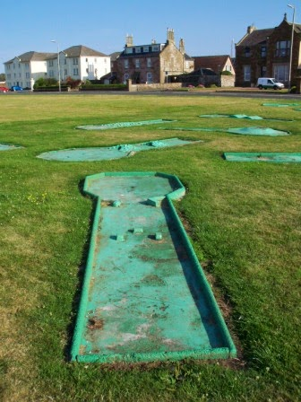 Crazy Golf in Ardrossan