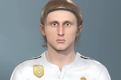Luka Modrić Face (Real Madrid) - PES 2019