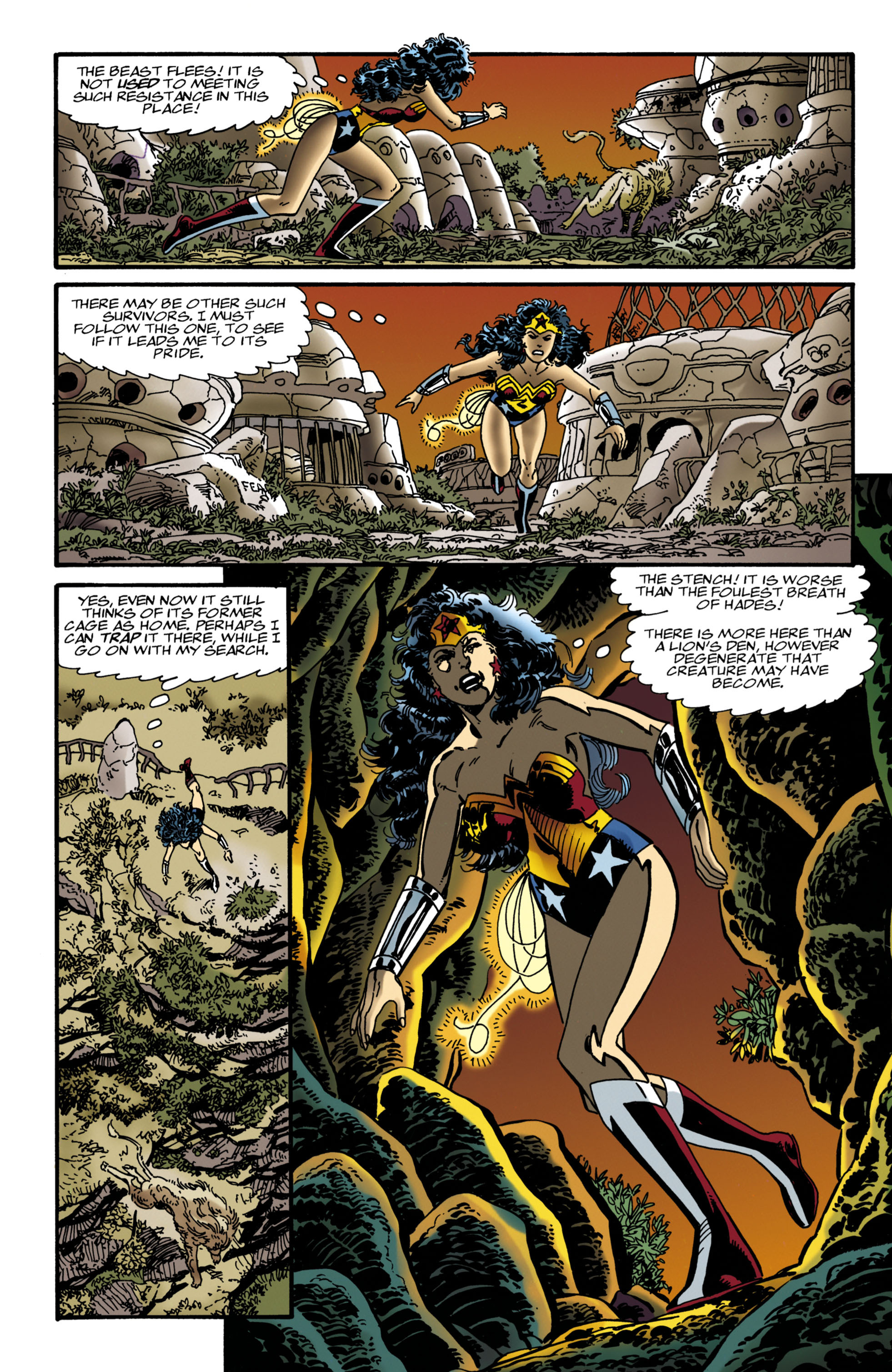 Read online Wonder Woman (1987) comic -  Issue #118 - 16