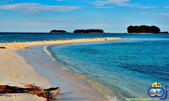 pulau gosong perak di pulau harapan