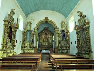 Altares Laterais e Principal da Igreja Matriz de Viamão